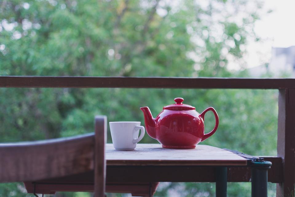 tea on table